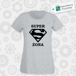 Superżona - koszulka damska szara