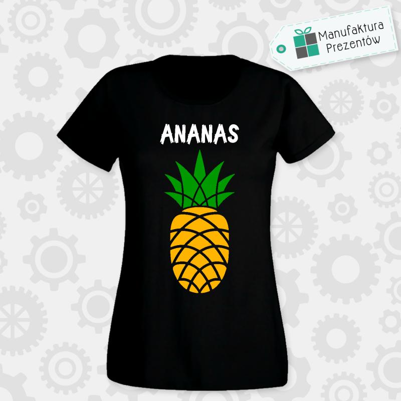 Ananas ! - koszulka damska czarna