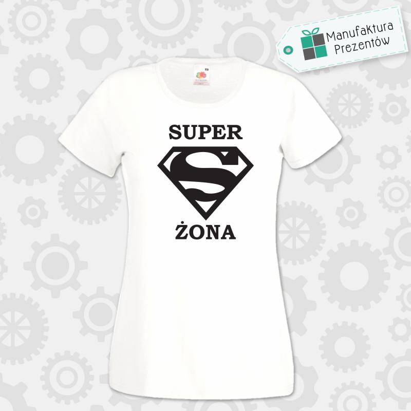 Superżona - koszulka damska biała