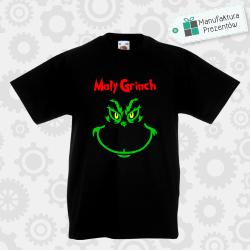 Mały Grinch - koszulka chłopięca czarna