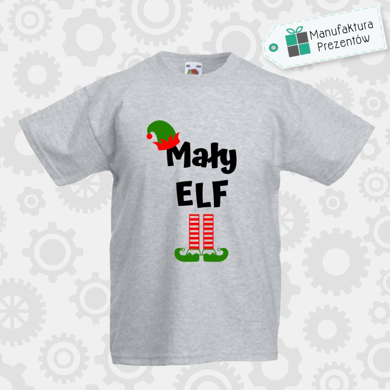 Mały Elf - koszulka chłopięca szara
