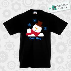 Cool guy - koszulka chłopięca czarna