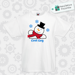 Cool guy - koszulka chłopięca biała