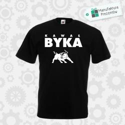 Kawał Byka - koszulka męska czarna
